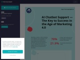 AI Chatbot Support — The Key to Success in the Age of Marketing 4.0
