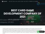 Best Card Game Development Company of 2021 | Creatiosoft