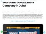 Best Game Development Company in Dubai | Creatiosoft