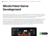 Bitcoin Poker Game Development Company – Creatiosoft