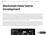 Blockchain Poker Game Development Company – Creatiosoft