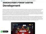 .Blockchain Poker Game Development Company – Creatiosoft