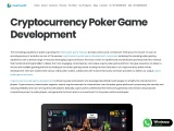 Cryptocurrency Poker Game Development | Creatiosoft