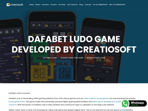 Dafabet Ludo Game Developed By Creatiosoft Solutions Pvt Ltd