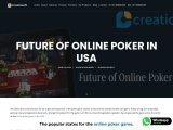 Future of Online poker in USA – Creatiosoft Poker Game Development