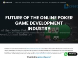 Future of the Online Poker Game Development Industry