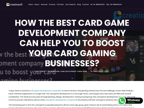 How the Best Card Game Development Company Can Help You to Boost Your Card Gaming Businesses?