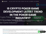 Is Crypto Poker Game Development Latest Trend in Poker Game Industry?