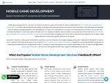 Mobile Game Development Company in India- Creatiosoft Solutions