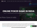 Online Poker Game in India | Poker Game Development Company