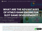 What are the advantages of html5 game engine for slot game development