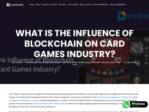 What is the Influence of Blockchain on Card Games Industry?