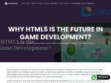 Why HTML5 Games is the Future in Game Development? – Creatiosoft