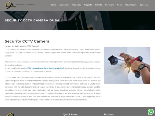 Are You Looking for very effective CCTV Camera Dubai?