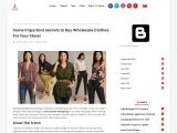 Buy Wholesale Latest Clothing – Womens Latest Clothing Styles