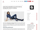 Women's Clothing – Best Guide For Reailers To Increase Their Sales In Womens Clothing!