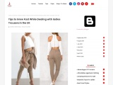 Ladies Pull On Trousers – Best Tips To Improve Your Sales Dealing With Ladies Trousers!
