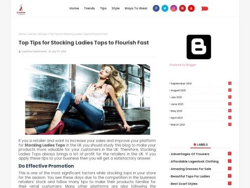 Ladies Viscose Tops – Tps For Women