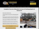 Concrete Finishing in Vancouver