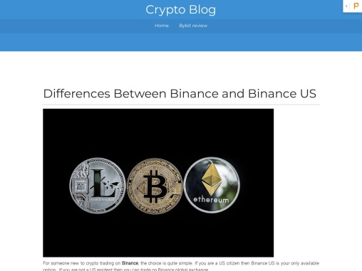 Differences Between Binance and Binance US