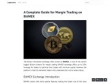 A Complete Guide for Margin Trading on BitMEX