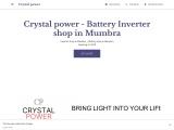Crystal power – Best Battery Shop in Mumbra