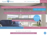 Crystal Blinds North East is a set up family run business situated in Jarrow in Tyne and Wear.