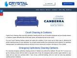 Couch Cleaning Canberra   Crystal Couch Cleaning