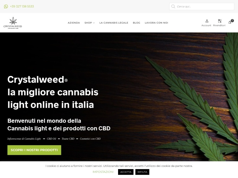 Crystalweed screenshot