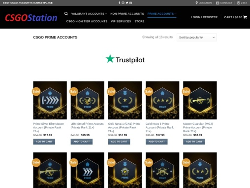 Buy CSGO Prime Accounts From CSGOStation