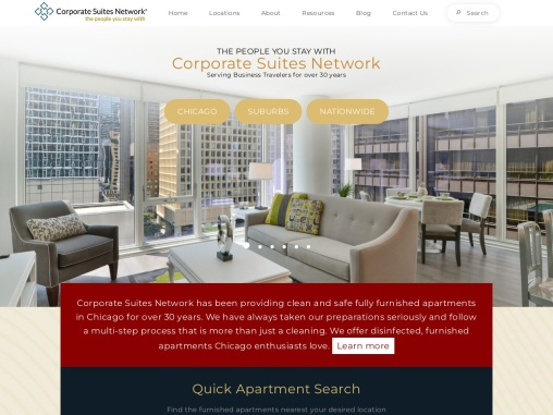 Furnished Apartments in Chicago   Chicago Corporate Housing   Chicago Temporary Housing