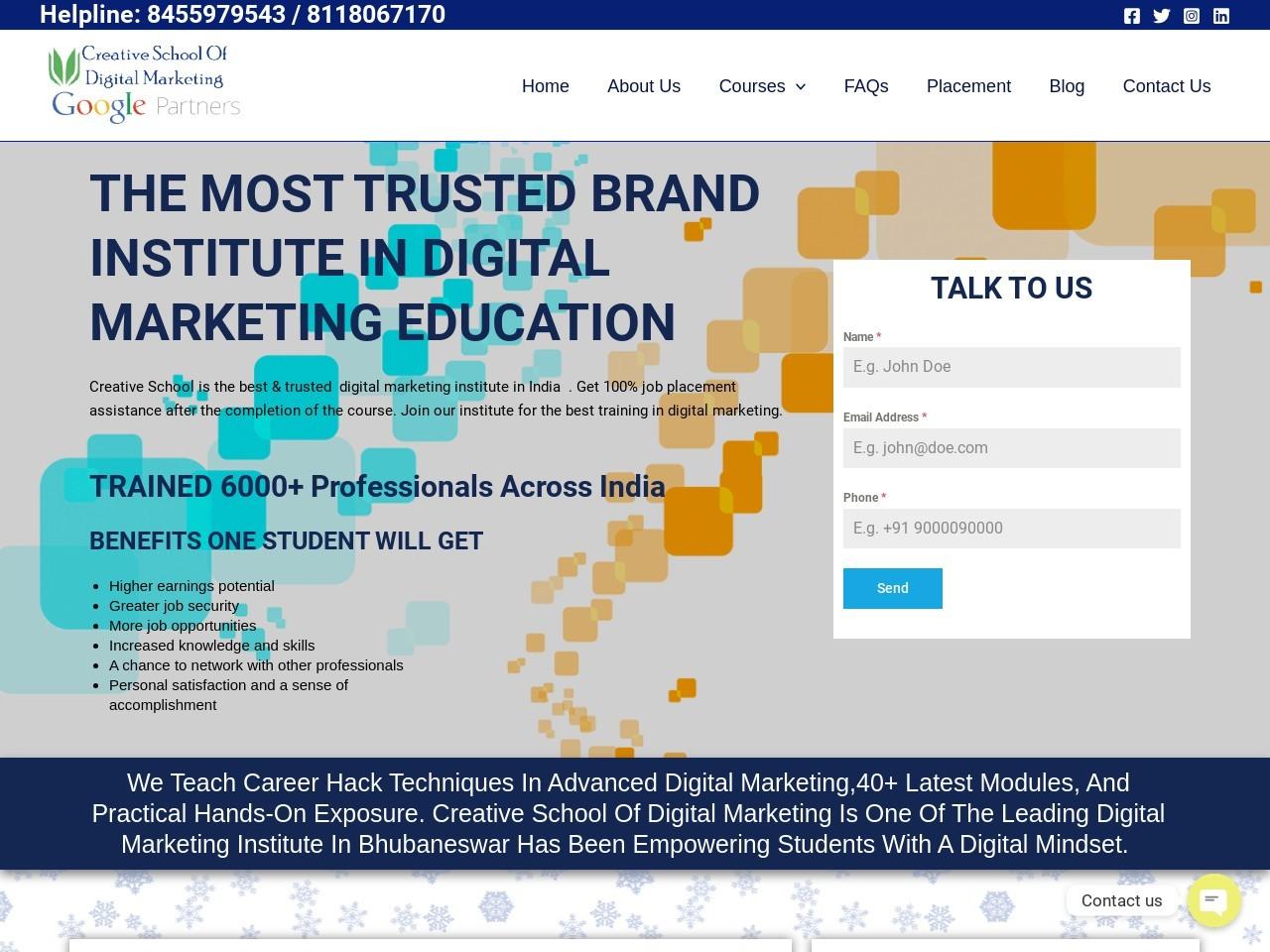 Online Digital Marketing Course In Kolkata – CSODM