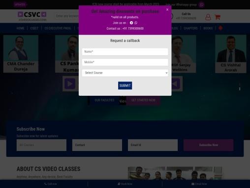 Best cs video classes for CS foundation