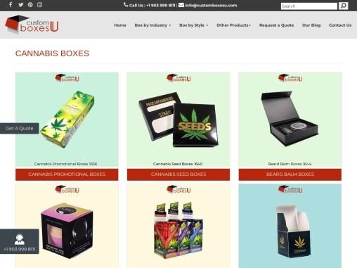Cannabis Oil Boxes Wholesale with Printed Logo & unique Design