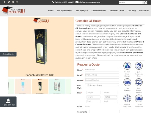 Boost your sale with Luxury Cannabis Oil Boxes Wholesale in USA