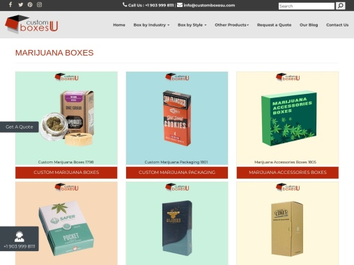 Marijuana subscription boxes available in All Sizes & Shapes in USA