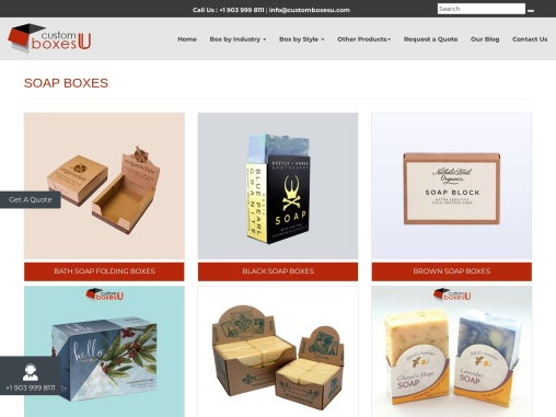 Custom soap boxes wholesale free Shipping in Texas, USA