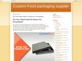 Get Your Flag Printed On Boxes For Presentation