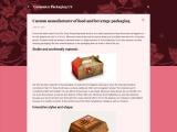 Custom manufacturer of food and beverage packaging