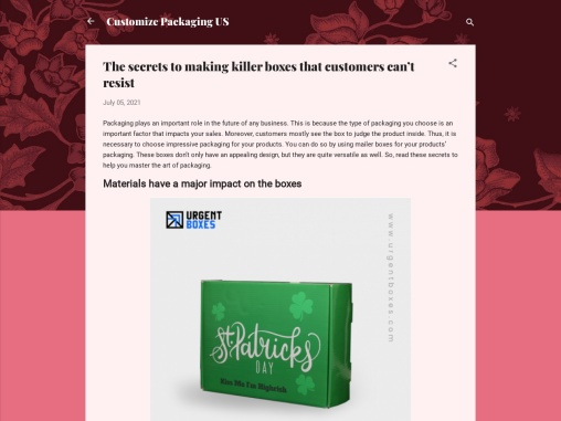 The secrets to making killer boxes that customers can't resist
