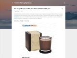 The #1 tips that you need to read about candle boxes this year