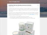 Candle Boxes Take Care of Branding, Convenience & Protection