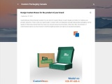 Design Custom Boxes for the product of your brand