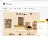 Kraft Boxes Ensure Cost- Effective Wholesale Buying