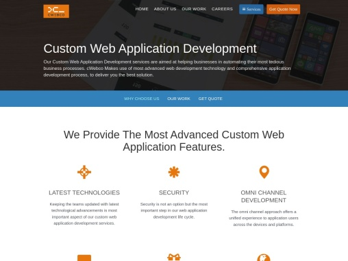Top-Rated Web Application Development Company | cWebConsultants