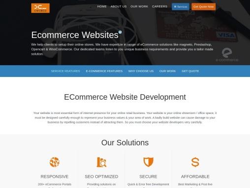 Leading E-Commerce Website Development Company in India | cWebConsultants