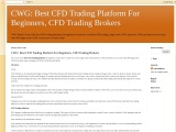 CFD trading for beginners | Best CFD trading platform