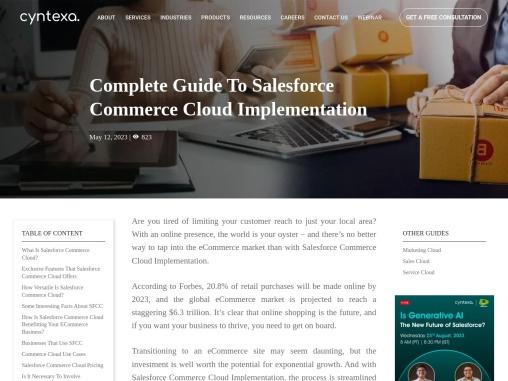 B2B Salesforce Commerce Cloud Implementation