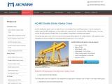 Picking A Proper Double Girder Gantry Crane