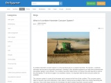 What Is A combine Harvester Concave System?